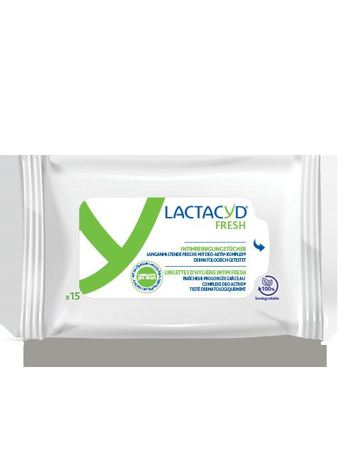 Lactacyd® FRESH Lingettes intimes